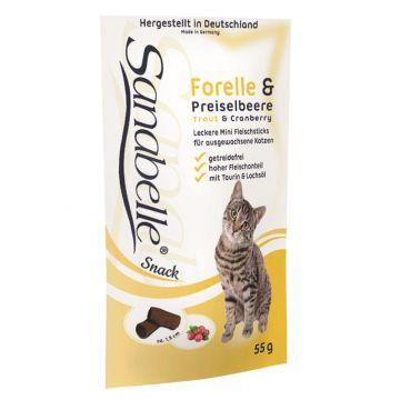 Sanabelle Snack mit Forelle & Preiselbeere 55g