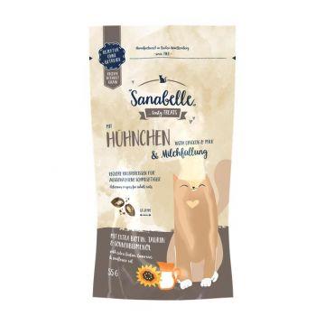 Sanabelle Knusperkissen Huhn & Milch 55 g (Menge: 20 je Bestelleinheit)