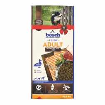Bosch Adult Ente & Reis 15 kg