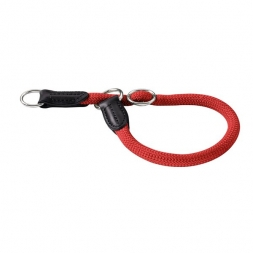 Hunter Dressurhalsung Freestyle 50 cm / 10 mm rot