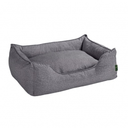 Hunter Hundesofa Boston grau L 100 x 70 cm