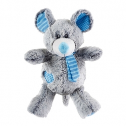 Hunter Hundespielzeug Patchwork Quincy Maus 30 cm