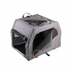 Hunter Transportbox mit Aluminiumgestell Anthrazit/Orange 61 x 45,5 x 43 cm
