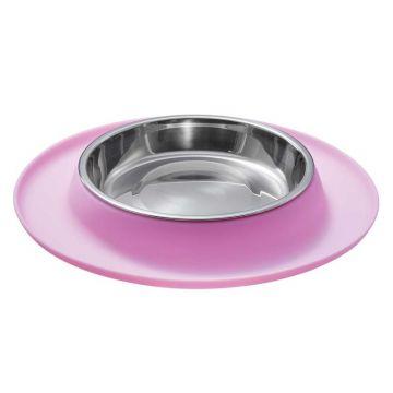 Hunter Katzennapf mit Silikonunterlage pink