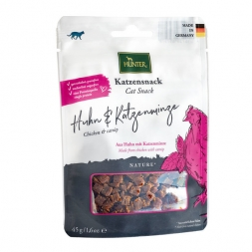 Hunter Katzensnack Huhn & Katzenminze 45 g