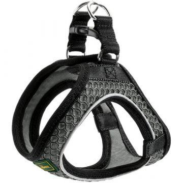 Hunter Geschirr Hilo Comfort XS anthrazit Hals 30 - 35 cm Bauch 33 - 36 cm