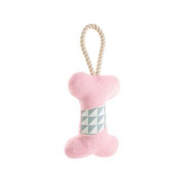 Hunter Hundespielzeug Salima Knochen rosa  18 cm