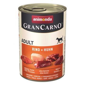 Animonda GranCarno Adult Rind & Huhn 400g (Menge: 6 je Bestelleinheit)