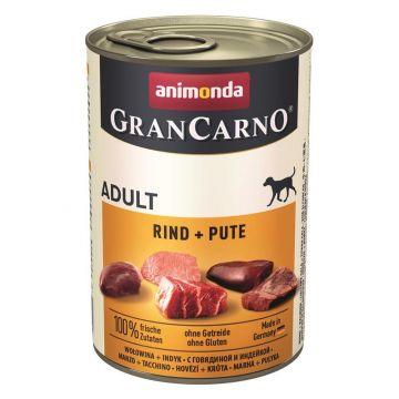 Animonda GranCarno Adult Rind & Pute 400g (Menge: 6 je Bestelleinheit)
