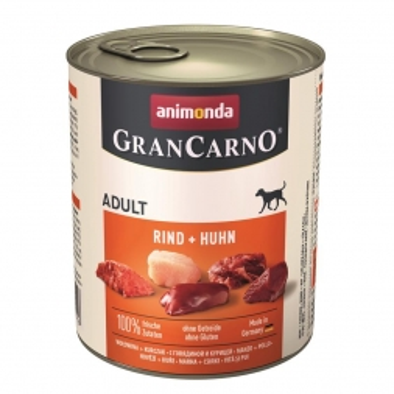 Animonda GranCarno Adult Rind & Huhn 800g (Menge: 6 je Bestelleinheit)