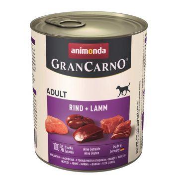 Animonda GranCarno Adult Rind & Lamm 800g (Menge: 6 je Bestelleinheit)