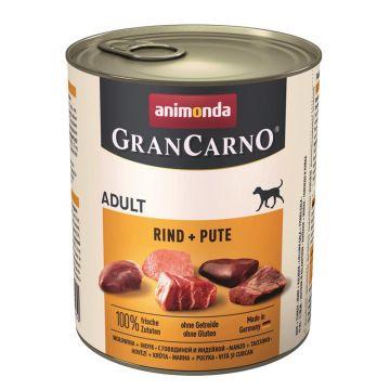 Animonda GranCarno Adult Rind & Pute 800g (Menge: 6 je Bestelleinheit)