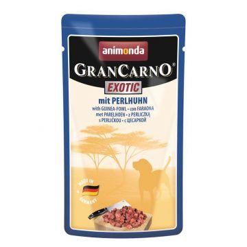 Animonda Dog GranCarno Exotic mit Perlhuhn 125g Portionsbeutel (Menge: 16 je Bestelleinheit)