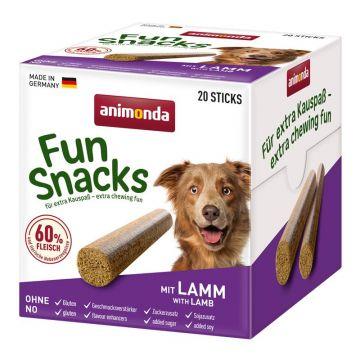 Animona Dog Fun Snacks mit Lamm 20 Sticks