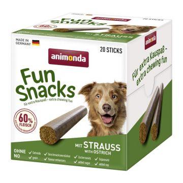 Animona Dog Fun Snacks mit Strauß 20 Sticks (Menge: 6 je Bestelleinheit)