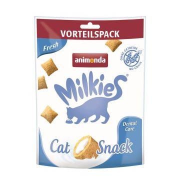 Animonda Snack Milkie Knusperkissen Fresh 120g (Menge: 6 je Bestelleinheit)
