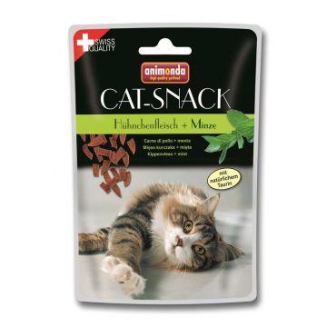Animonda Cat-Snack Hühnchenfleisch & Minze 45g