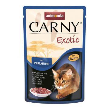 Animonda Cat Portionsbeutel Carny Exotic mit Perlhuhn 85g (Menge: 12 je Bestelleinheit)