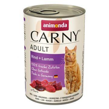 Animonda Carny Adult Rind & Lamm 400g (Menge: 6 je Bestelleinheit)