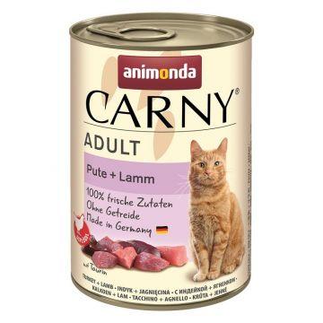 Animonda Cat Dose Carny Adult Pute & Lamm 400g (Menge: 6 je Bestelleinheit)
