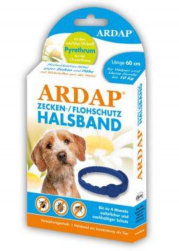 Ardap Zecken- u. Flohhalsband kleine Hunde bis 10 Kg 60 cm