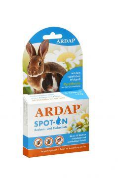 Ardap Spot-On für Kleintiere 1-4 kg 3 x 0.4 ml