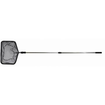 Söll Teichkescher rechteckig, mit Teleskopstiel