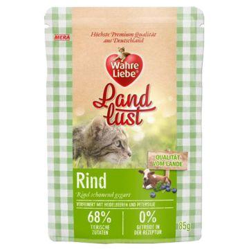 Wahre Liebe Landlust Nassfutter Rind 12 x 85g (Menge: 12 je Bestelleinheit)