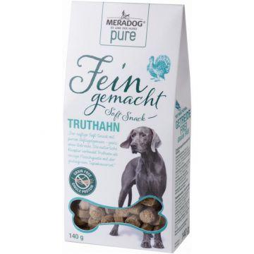 Meradog Pure Fein Gemacht Soft-Snack Truthahn 140g