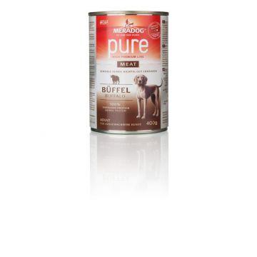 Mera Dog pure meat Büffel 400g (Menge: 6 je Bestelleinheit)