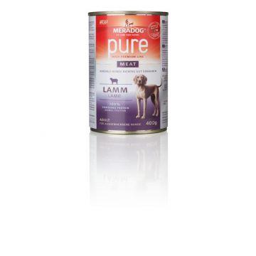 Mera Dog pure meat Lamm 400g (Menge: 6 je Bestelleinheit)