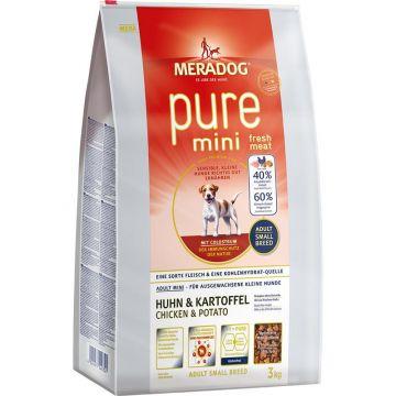 MD Pure Mini fresh meat Huhn& Kartoffel 3kg
