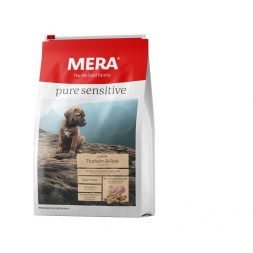 Mera Dog Pure Sensitive Junior Truthahn & Reis 12,5kg