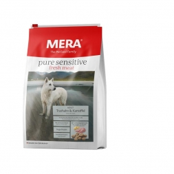 Mera Dog Pure Sensitive Fresh Meat Truthahn & Kartoffel 1kg