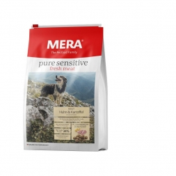 Mera Dog Pure Sensitive Fresh Meat Huhn & Kartoffel 4kg