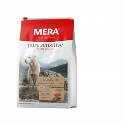 Mera Dog Pure Sensitive Fresh Meat Rind & Kartoffel 12,5kg