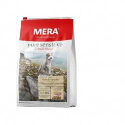 Mera Dog Pure Sensitive Fresh Meat Mini Huhn & Kartoffel 4kg