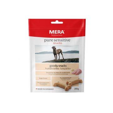 Mera Dog Pure Sensitive Goody Snack Truthahn & Reis 200g