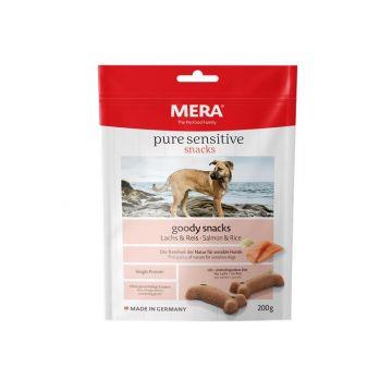MeraDog Pure Sensitive Goody Snack Lachs & Reis 200g