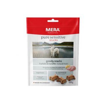 Mera Dog Pure Sensitive Goody Snack Truthahn & Kartoffel 200g