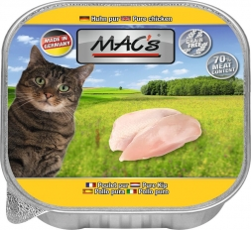 MACs Cat Huhn Pur 85g (Menge: 16 je Bestelleinheit)