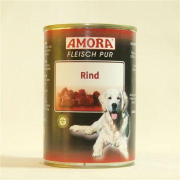 AMORA Dog Fleisch Pur getreidefrei Rind 400g (Menge: 6 je Bestelleinheit)