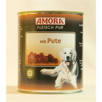 AMORA Dog Fleisch pur getreidefrei Pute 800g (Menge: 6 je Bestelleinheit)