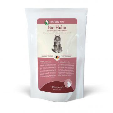 Herrmanns Cat FB Bio-Huhn, Karotte & Kamut 100g (Menge: 20 je Bestelleinheit)