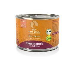Herrmanns Katzenfutter Dose Bio-Gans 200g (Menge: 12 je Bestelleinheit)