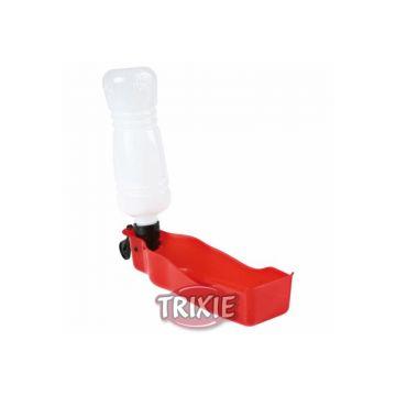 Trixie Trinkflasche mit Trinknapf 700 ml