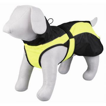 Trixie Mantel Safety, S: 40 cm, schwarz/gelb