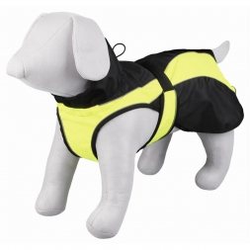 Trixie Mantel Safety, M: 50 cm, schwarz/gelb