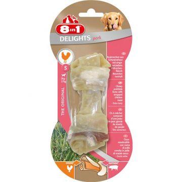 8in1 Delights Pork Kauknochen S