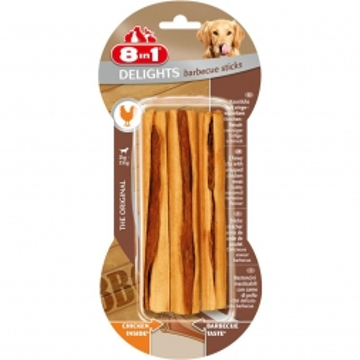 8in1 Delights BBQ Sticks (3er)